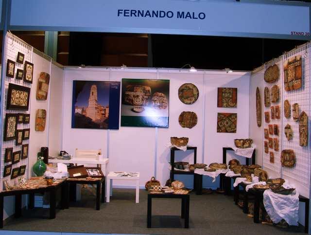 XXIV FERIA DE ARTESANIA ARAGONESA :  F. MALO