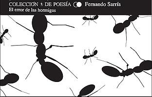 """Presentación de """"El error de las hormigas"""" de Fernando Sarría"""