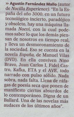 """Reseña de """"España"""" (Agustín Fernández Mallo)"""
