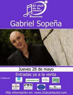GABRIEL SOPEÑA EN CONCIERTO