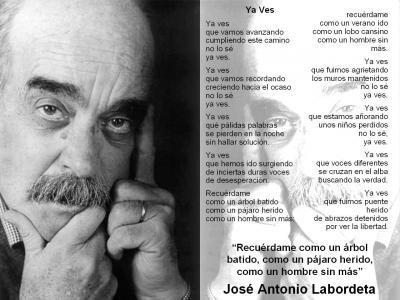 YA VES   (José Antonio Labordeta)