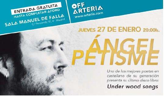Concierto de Ángel Petisme