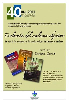 Enrique Serna en la Universidad Veracruzana